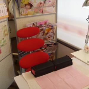 ネイルサロン mahinaの店内画像