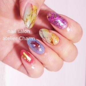 泉佐野市日根野 nail salon atelier Charm