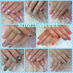 自宅ネイルサロンsmall-sweet